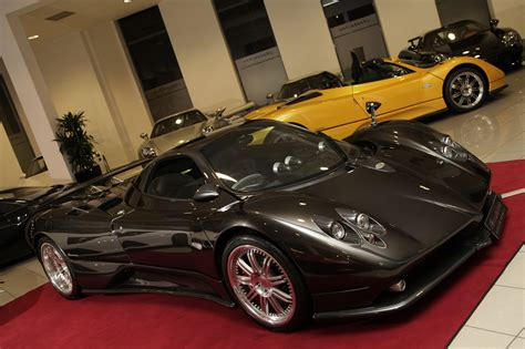 pagani dealership german dealership has four pagani zondas for sale gtspirit