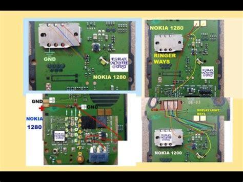 nokia 1280 white display nokia 1280 charging mic insert sim ringer white display