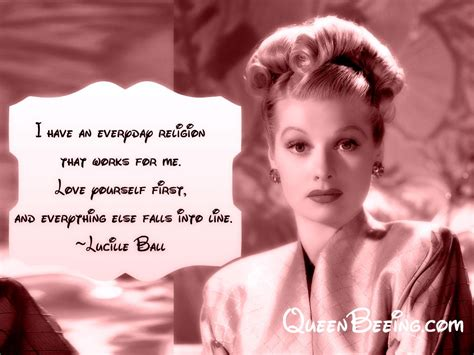 quotes by lucille ball lucille ball quotes love yourself www imgkid com the