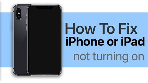 iphone or not turning on how to fix a dead idevice