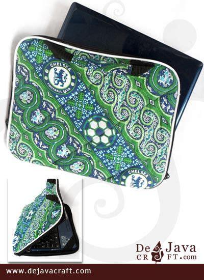 Tas Ransel Motif Chelsea tas laptop batik motif batik bola mu 14 inchi tas laptop murah batikunik