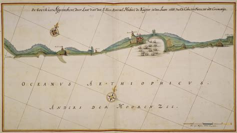 netherlands coast map the european forts in colonial voyage