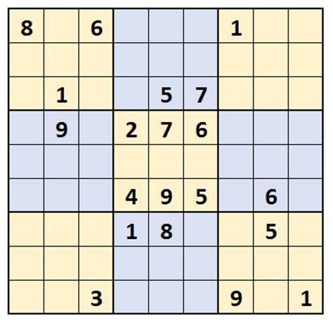 sudoku samurai para imprimir nivel difcil juego sudoku matem 225 ticas pero son muy f 225 ciles ejercita tu mente
