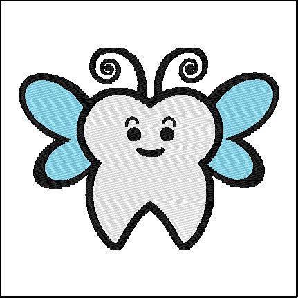 embroidery design tooth fairy tooth fairy embroidery design