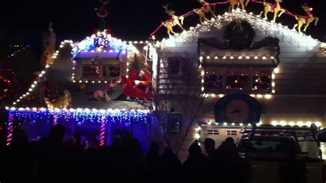 christmas light show amazing walnut ct santa rosa ca