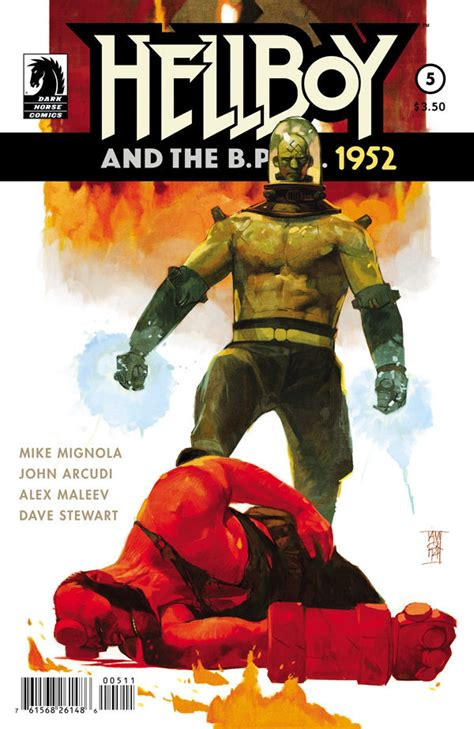 libro hellboy and the b p r d hellboy and the b p r d 1952 5 profile dark horse comics