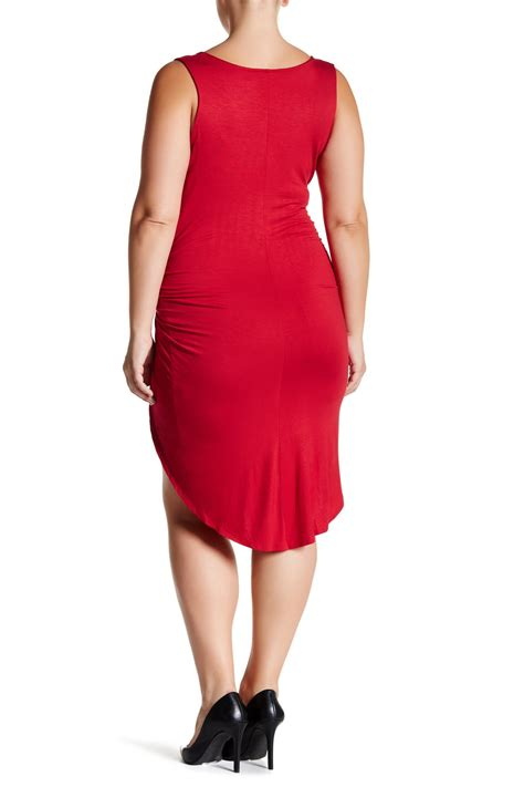 Vanity Clothing Locations by Vanity Room Knotted Knit Tank Dress Plus Size