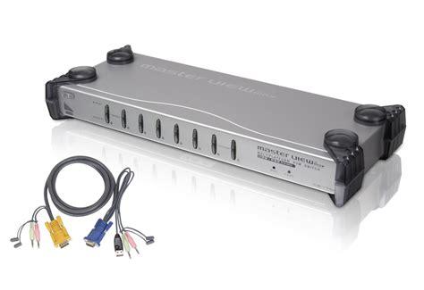 6 port kvm switch 8 port ps 2 usb kvm switch w 8 ps 2 cables cs1758kit