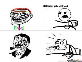 Troll Meme - trollface may not get a girl by asphult1997 meme center
