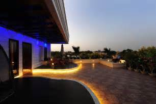 Exterior Patio Lighting Patio Lighting Ideas And Light Up Palm Trees Lights Etc