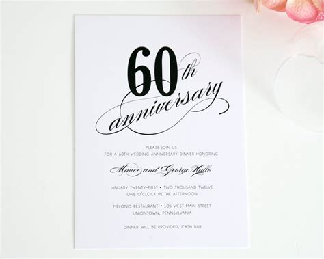 60th anniversary Poems