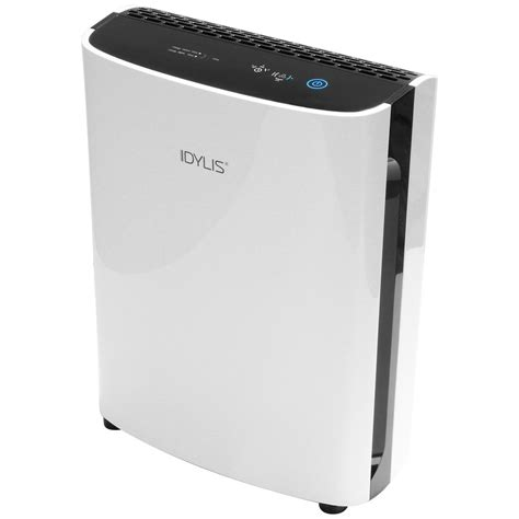 shop idylis 3 speed 232 sq ft hepa air purifier at lowes