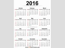 2016 Calendar Printable Free by 123freevectors on DeviantArt 2016 Free Printable