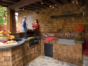 Rustic Outdoor Kitchen Ideas by Kitchen Rustic Outdoor Kitchen Design With Compact Kitchen