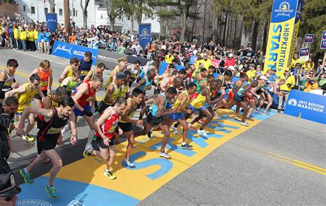 the b a a has assigned boston bibs and corral wave info