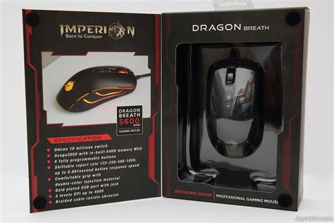 Mouse Gaming Imperion S400 Imperion Sky Tanker Macro imperion breath s600 gaming mouse review jayceooi