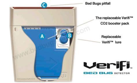 verifi bed bug detector bedbug monitoring green bed bug pest control services