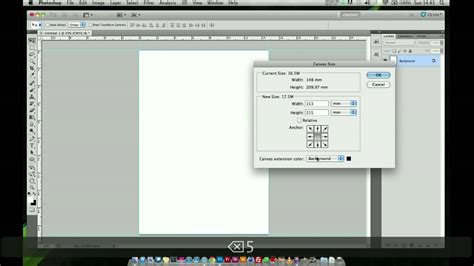 insert pattern in photoshop photoshop tutorial adding a bleed quick easy youtube