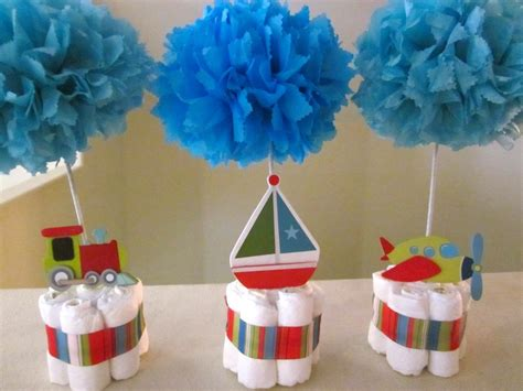 table centerpieces for baby shower baby shower table centerpieces