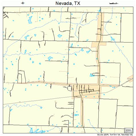 nevada texas map nevada texas map 4850760