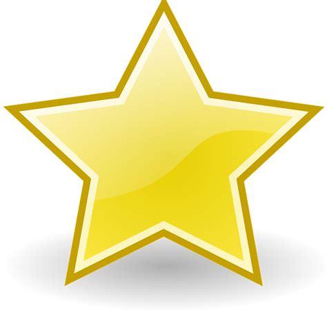 clipart stelle imagem vetorial gratis estrelas amarela dourado natal
