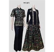 Model Baju Batik Couple Terbaru 2016 Gamis