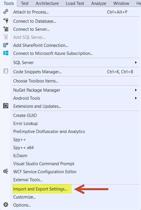 how reset visual studio settings donovan brown how to change your default language in