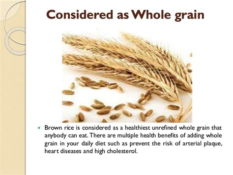 whole grains brown rice brown rice diet whole grain directoryinter