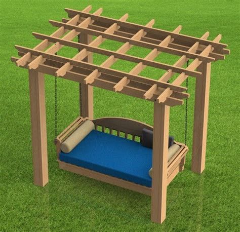 outdoor swing bed plans 456 best images about wood work plans on pinterest