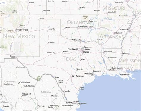 turkey texas map texas map