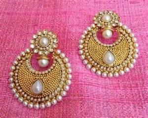 Decorative Pearls For Vases Buy Pearl Polki Flower Ethnic Indian Pakistani Bollywood