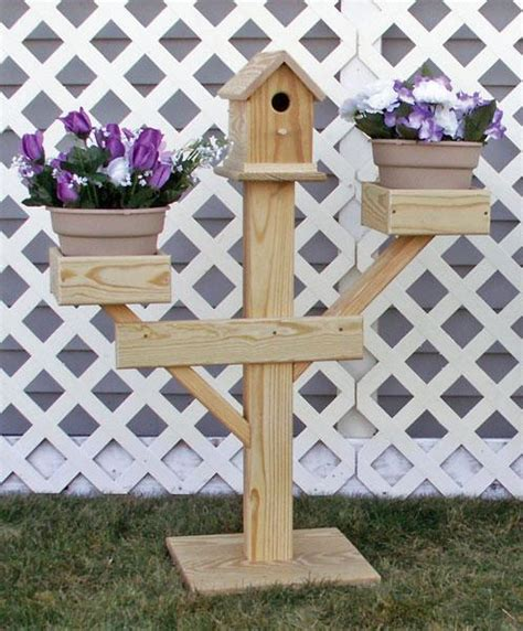 Birdhouse Planters by Amish Outdoor Large Birdhouse Planter