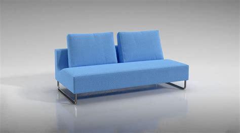 sci fi couch blue futuristic sofa 3d model cgtrader com