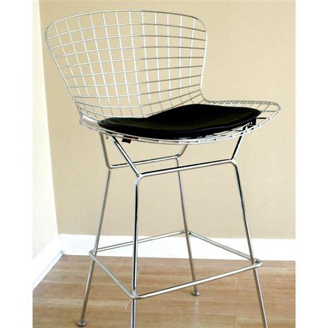 Bertoia Style Wire Bar Stool wholesale interiors 174 bertoia style wire bar stool 168138