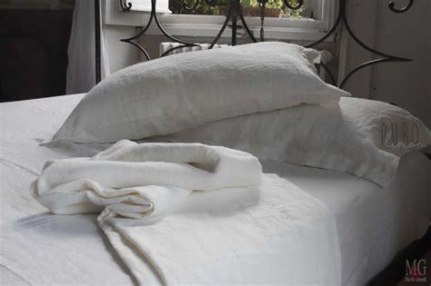 outlet biancheria letto copripiumini in lino lenzuola lino stropicciato tessuti in