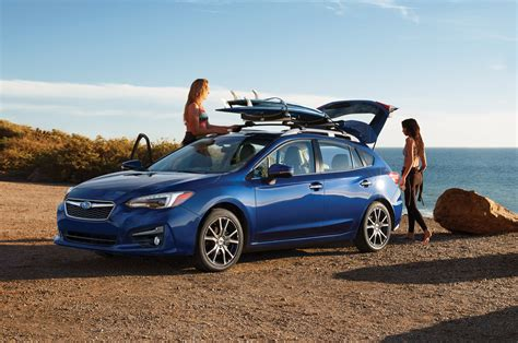 blue subaru hatchback 2017 subaru impreza reviews and rating motor trend