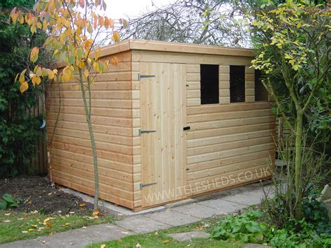Shed Pent by Cheap Sheds Garden Buildings Free Fitting Garden Sheds