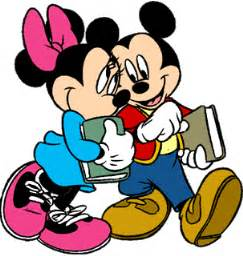 Image result for free back to school clipart mickey and minnie