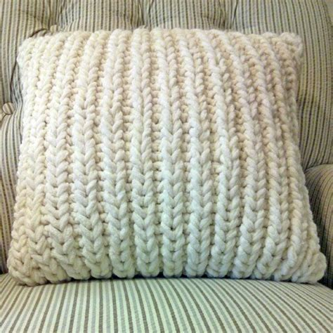 best 25 knitted pillows ideas on knitted