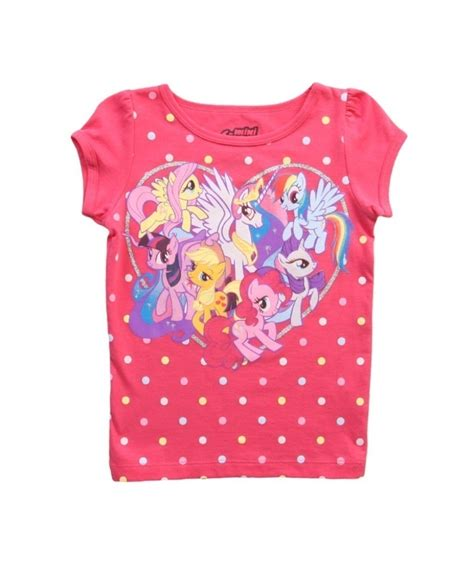 shirts for toddlers my pony big hearts t shirt