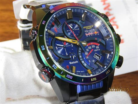 Casio G Shock Redbull Black edifice eqb 500rbb 2aer edifice bull racing
