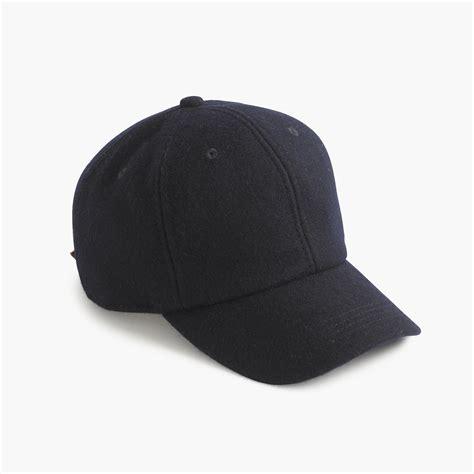 j crew wool baseball cap in blue for lyst