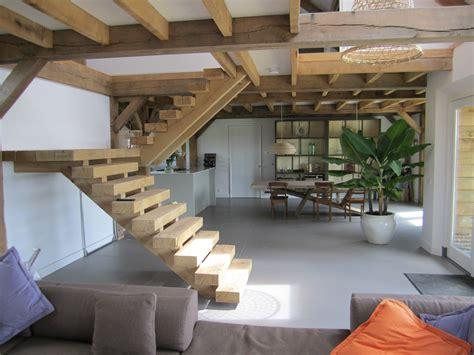 robuuste houten ladder robuuste houten trap google zoeken trap en trapopgang