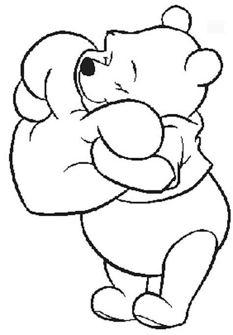 imagenes de winnie pooh y piolin dibujos de san valent 237 n para colorear 161 de disney pequeocio