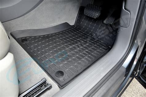 audi q5 rubber floor car interior mats black rhd 8r tdi