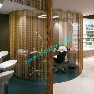 chain curtain room divider china decorative vertical aluminium chain link cutain room