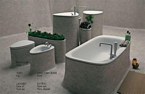 Monolithic Lavatory Lines : Flow Bathroom Concept