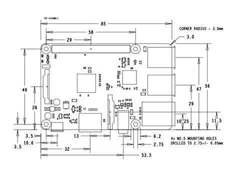 B Drawing Size by Module Schematic Get Free Image About Wiring Diagram