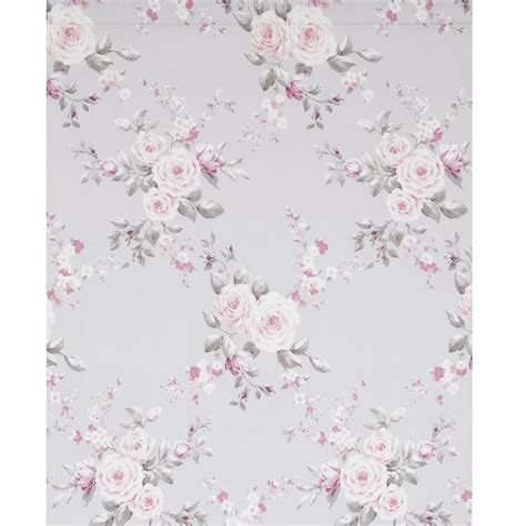 canterbury floral curtains canterbury fully lined tape top floral grey
