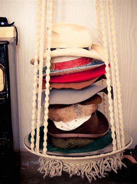 18 hat organizing ideas for summer